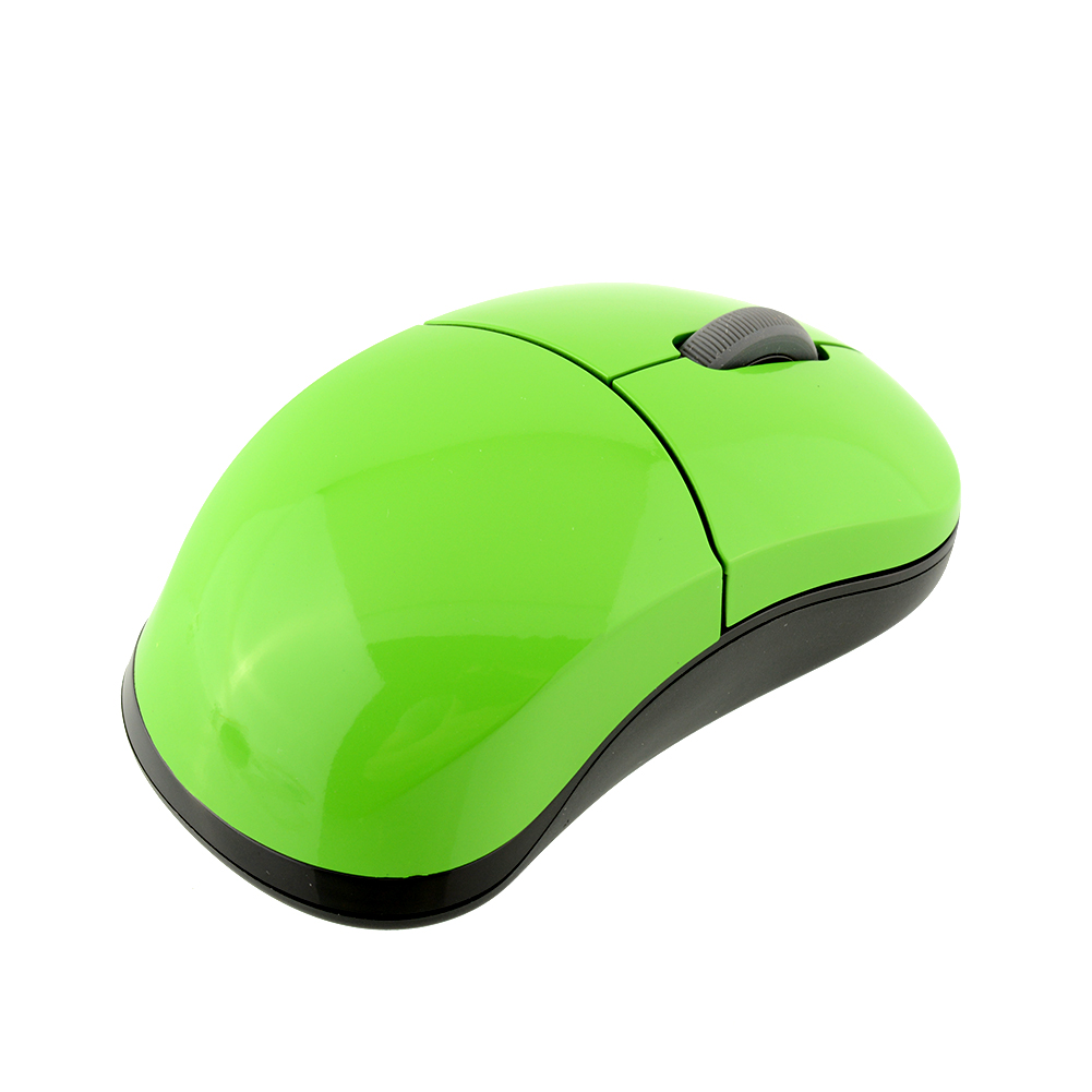 2.4G Rapoo 1100X Green USB Wireless Cordless Mouse Mice USB Receiver for Laptops PC Rapoo Wireless Mouse(China (Mainland))