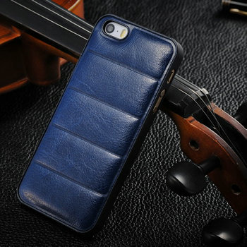 Luxury Retro back cover for iphone 5s 5 high quality Vintage leather hard case for iphone5 crazy horse leather mobile phone case(China (Mainland))