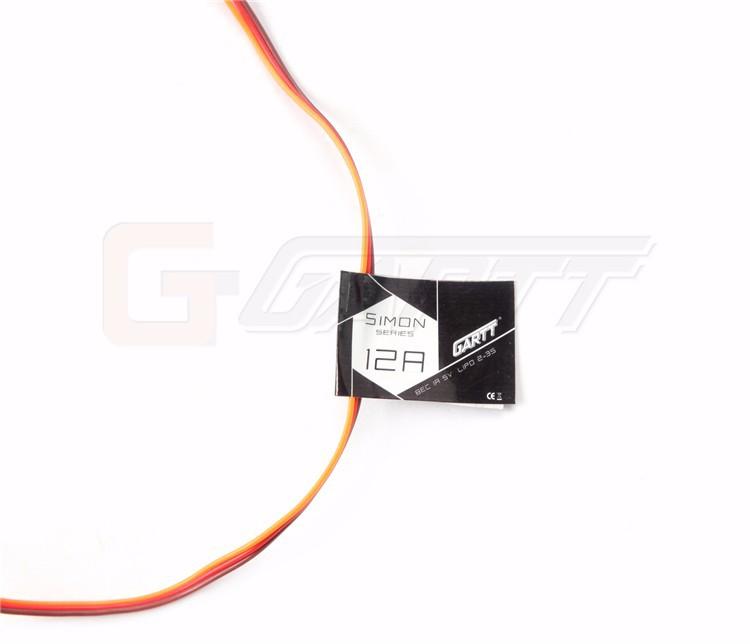 Gartt 2CW 2CCW ML 2204 S 2300KV Brushless Motor & 4 PCS Simon series 12A Brushless ESC for QAV FPV 210 250 300 Quadcopter Drone
