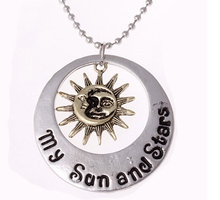 2015 Movie Jewelry New Fashion moon of my life Sun Star necklace Song Of Ice And