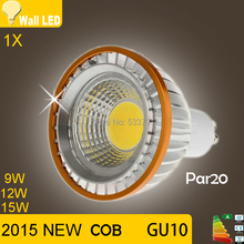 Buy LED Light GU10 COB 9W 12W 15W Par20 Spotlight Bulb Lamp Saving Warm White 85-265V Led Spot Bulb Lamp Lighting High Brighness for $3.99 in AliExpress store