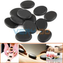 12pcs Massage Stone Health Basalt Oiled Specialty Rocks 3 x 4cm