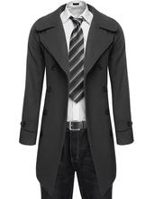 COOFANDY Fashion Men Slim Trench Coat Winter Long Jackets Double-Breasted Coat Sobretudo Woolen Casaco Masculino Agasalhos (China (Mainland))