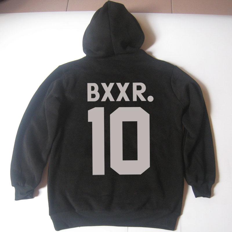 hot winter Men's Sportswear cotton BXXR 10 printed Hoodies & Sweatshirts Fleece, tracksuit jogging survetement football 2016(China (Mainland))