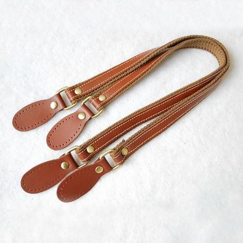 DIY Handmade Genuine Cowhide Leather Strap Handle Bag Handle kz0027 Bag Accessories(China (Mainland))