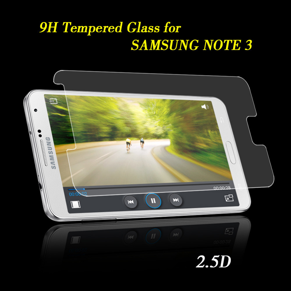Samsung Galaxy Note 3 Screen Protector Premium Tempered Glass 2.5D 9H Toughened Protective Film Retail Package New - ShenZhen SKY Electronic Co., Ltd store