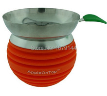 2015 new wholesale hookah tobacco shisha accessories copy apple on top bowl charcoal holder alicef 0021