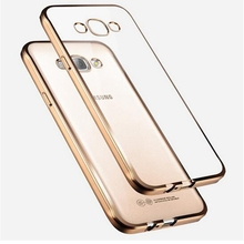 Samsung galaxy J3 J5 J7 Case Royal Electorplating Plating Gilded TPU Silicone Soft Back Cover samsung - May miky Glass screen Factory store