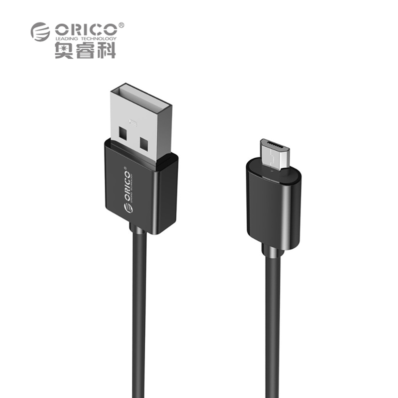 ORICO ADC Micro USB 2.0 Charging Data Cable Length 0.5m/0.8m/1.0m/1.5m/2.0m for Smartphones - Black / White(China (Mainland))