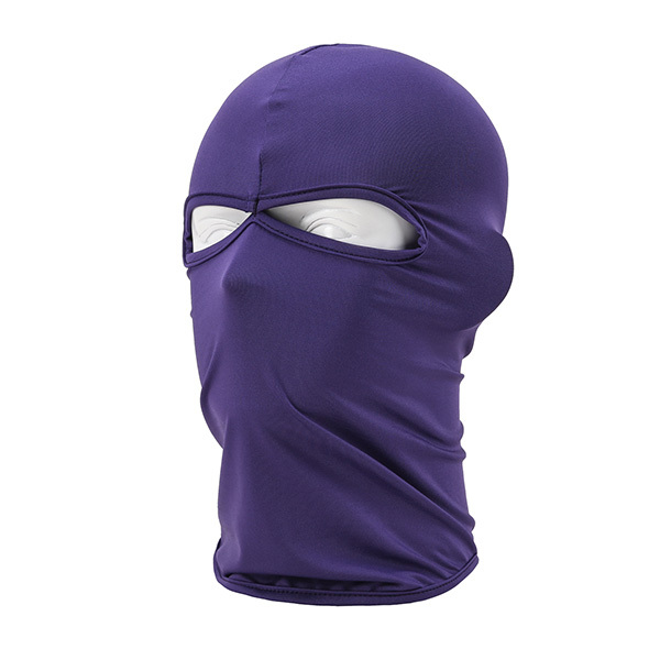 Outdoor Full Cover 2 Holes Face Mask Head Neck Balaclava Cycling Bike Hijab Caps(China (Mainland))