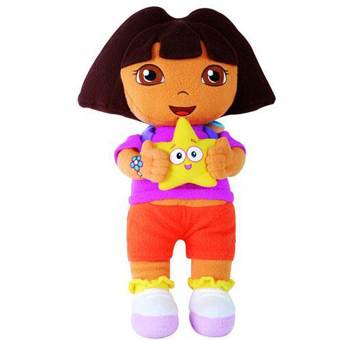 Free shipping New arrival plush toys 35cm dora high quality stuffed dolls movie tv plush cute toys for children HT480<br><br>Aliexpress