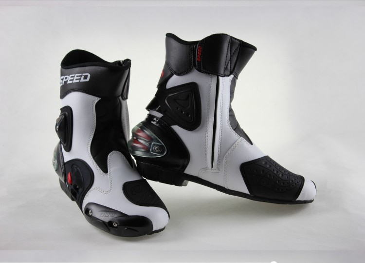 Фотография Free shipping PROBIKER A004 motorcycle racing boots motorcycle boots MOTORCYCLE BOOTS shoes