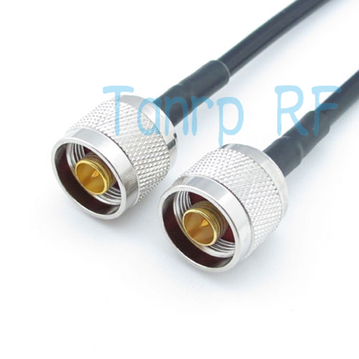Freeshipping! 20inch RG58 cable N male plug to N male plug  RF Pigtail coaxial  jumper cable 50cm Wholesale<br><br>Aliexpress