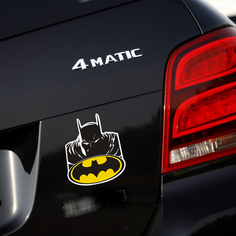 Newest Design the Avengers Batman Devil Auto Decal Accessories Car Sticker for Tesla Toyota Chevrolet Volkswage Lada Ford Z-066(China (Mainland))