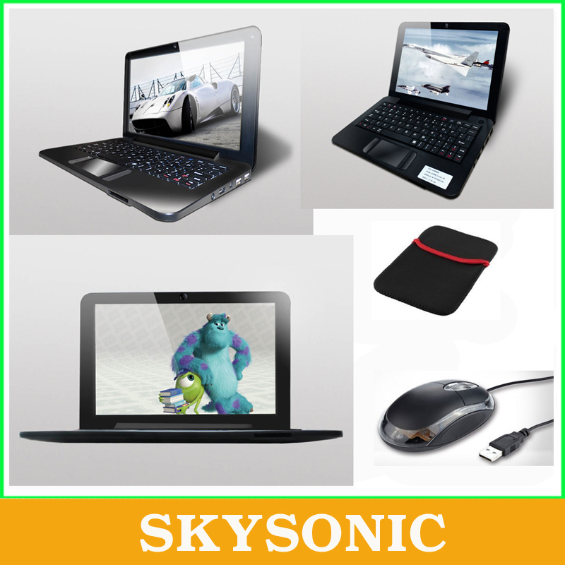 9 inch Android Netbook/Laptop/Notebook Pad Tab with 512MB RAM+4GB ROM, WIFI,HDMI, Dual Core,Free Gift with Mouse+Bag(China (Mainland))