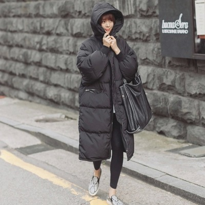 2015 Black Big Plus Size Korea Fashion Female Outwear Thick Warm Parka Oversize Fur Duck Down Winter Coat Women Retro With HoodОдежда и ак�е��уары<br><br><br>Aliexpress