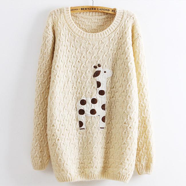 Blanket Applique Sweater 68