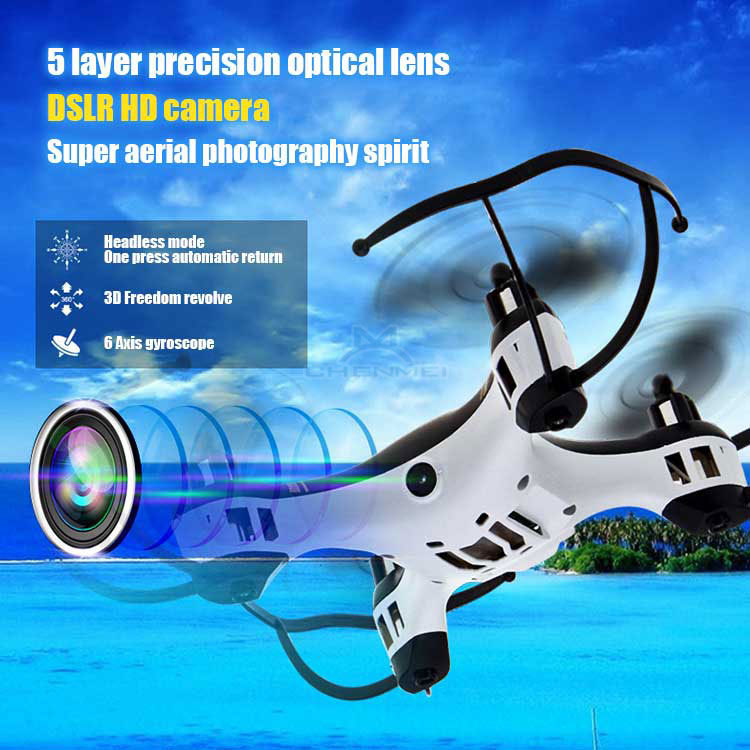 4 axis system 2 4Ghz RC Quadcopter Remote Control Helicopter Drone With 2 0MP Camera HD