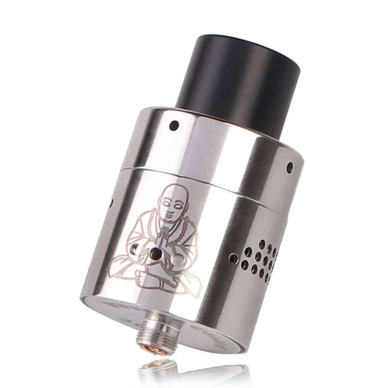 Zephyr Buddha V2 Style  26650 Rebuildable Dripping Atomizer - Silver<br><br>Aliexpress