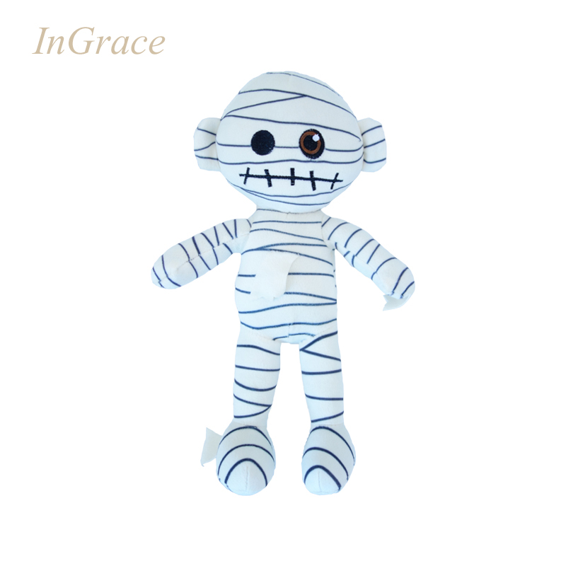 InGrace mummy funny dolls for boys stuffed Zombie funny toys high quality fashion dolls cheap factory direct dolls free shipping(China (Mainland))