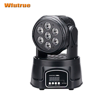 Led wash Moving Head Spot Stage Light 9/14DMX Channel Hi-Quality Hot Sales 105W Moving Light dj band light rgbw 4in1 leds(China (Mainland))
