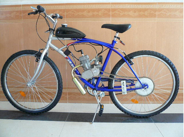 Bikes With Motors On Them For Cheap Motorized Bike CC GAS Motor
