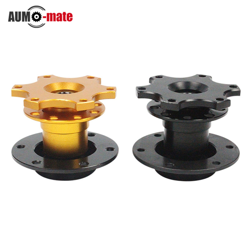Aluminum Steering Wheel Quick Release Hubs Racing For Universal Car Styling Auto Sport Tamping Tool(China (Mainland))