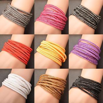 Накидка браслет многослойные браслеты 9 цветов на выбор для женщины подарок WRBR-002