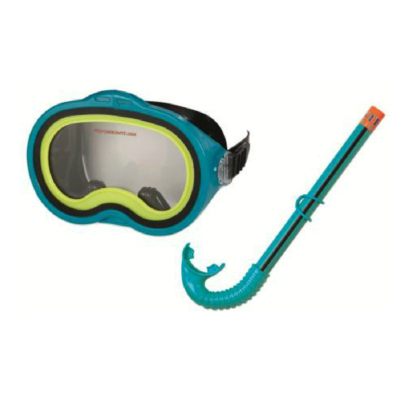 Original intex-55942 mask combination mirror submersible mirror goggles breathing tube(China (Mainland))