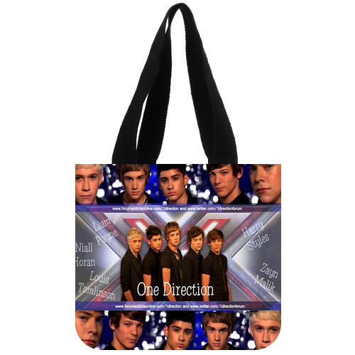 Original Shopping Bag Personalized Top Band One Direction Tote Bag 02(China (Mainland))