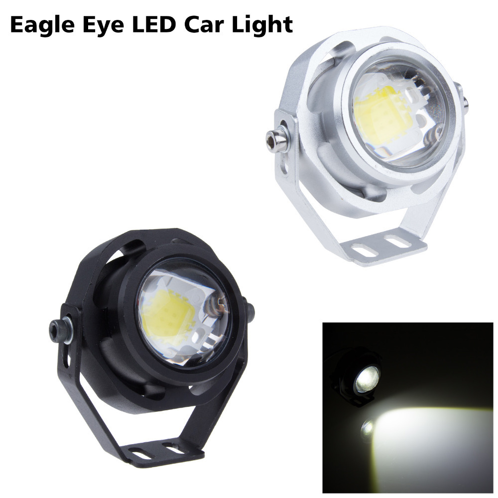 2015 Top sale universal fog light/ led drl day driving lights 12V 10W High power car led eagle eyes daytime running light led(China (Mainland))