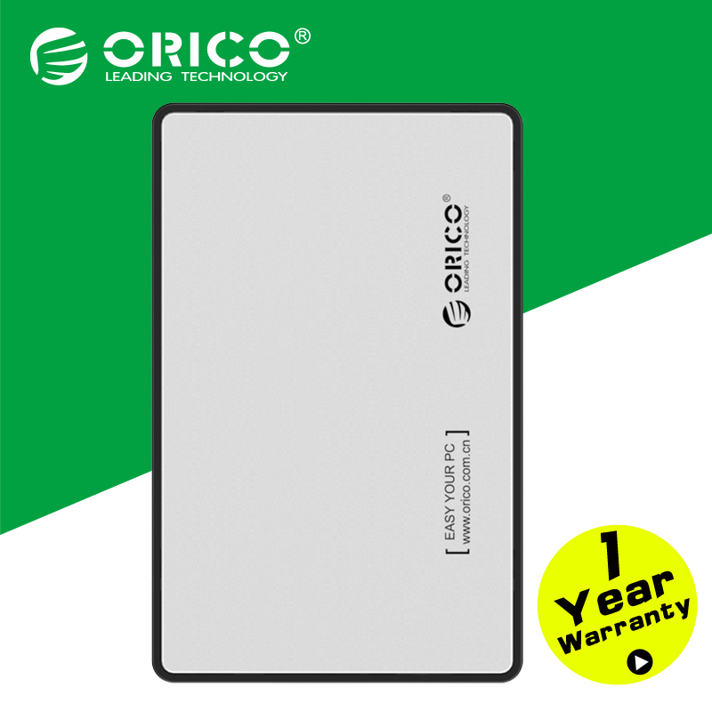 Гаджет  ORICO 2588US3-SV USB3.0 External 2.5 SATA HDD Storage Case for Notebook None Компьютер & сеть