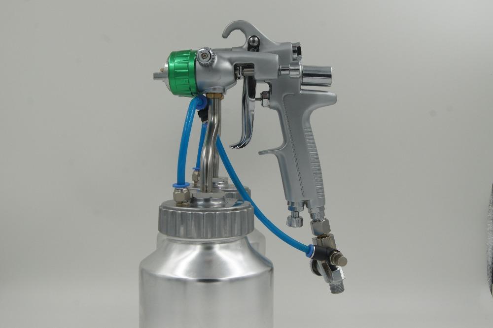 Pressure Paint Gun Pot : Paint gun pressure polyurethane foam spray machine coating