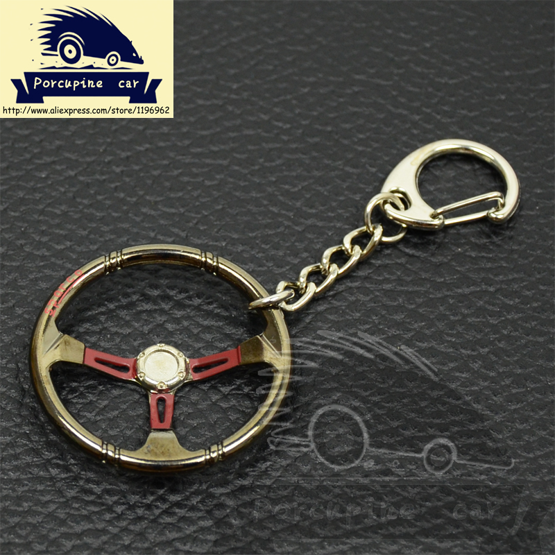 Porcupine car---New Hot Metal Key rings For sparco steering wheel Keychain Keyring Chaveiro pingente Key Holder, Car styling(China (Mainland))
