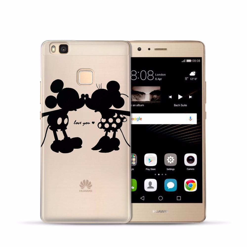 Soft Clear TPU Case For Huawei P8 P9 Lite P10 Plus Mate 9 Nova Y3 Y5 II Y6 ii 2 Y6 Pro Honor 6X 8 Cover Silicone Phone Back Skin