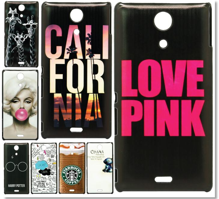New Brand Cover For Sony Xperia ZR M36H C5503 C5502 Cool Cartoon OKAY Skin Style Hard Plastic Mobile Phone Protective Case Cover(China (Mainland))