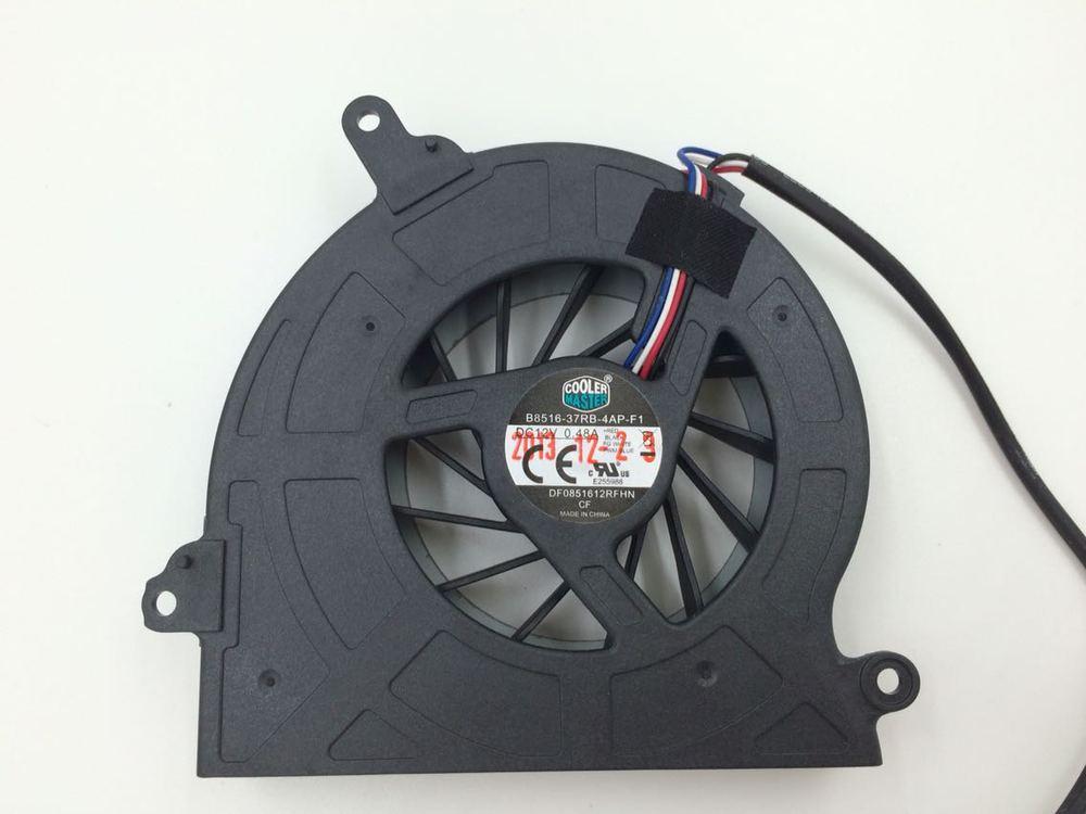New Original Cooler Master B8516-37RB-4AP-F1 DF0851612RFHN 12V 0.48A Laptop cooling fan(China (Mainland))