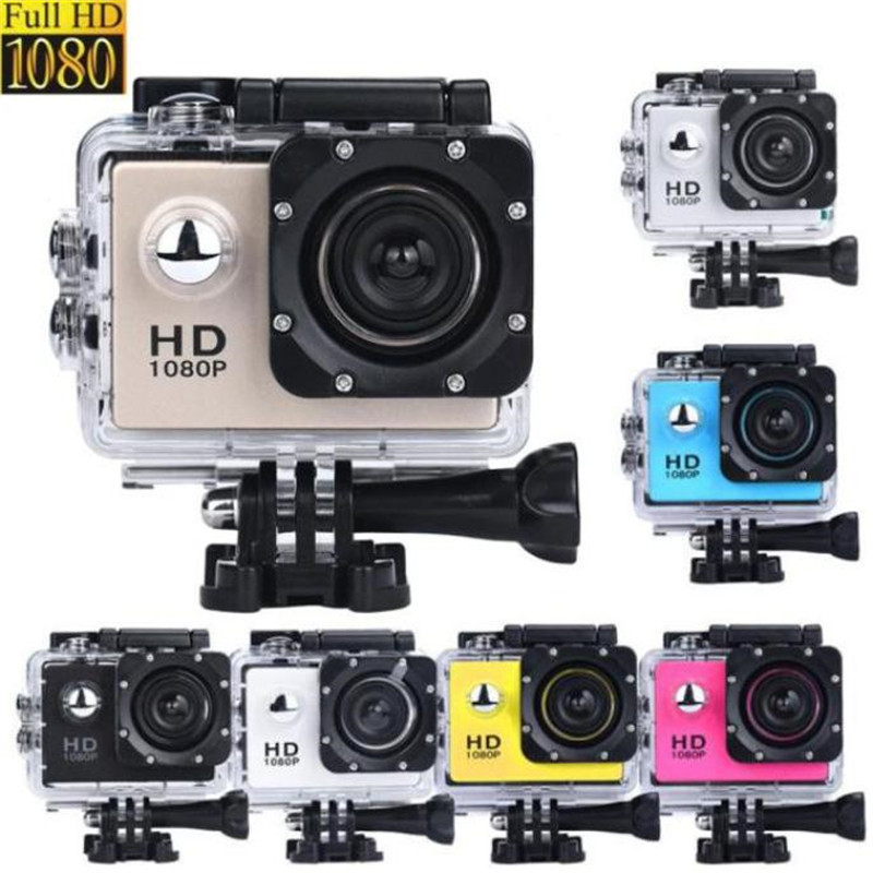2 inch Mini Waterproof Sports Recorder Car DV Action SJ5000 Camera Fixed Focus Camcorder Mic Speaker 1080P HD Wholesale(China (Mainland))