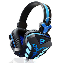 Gaming Headphones Surround Stereo Headband Headset With USB LED Light And Microphone 3.5mm Jack For Computer Laptop