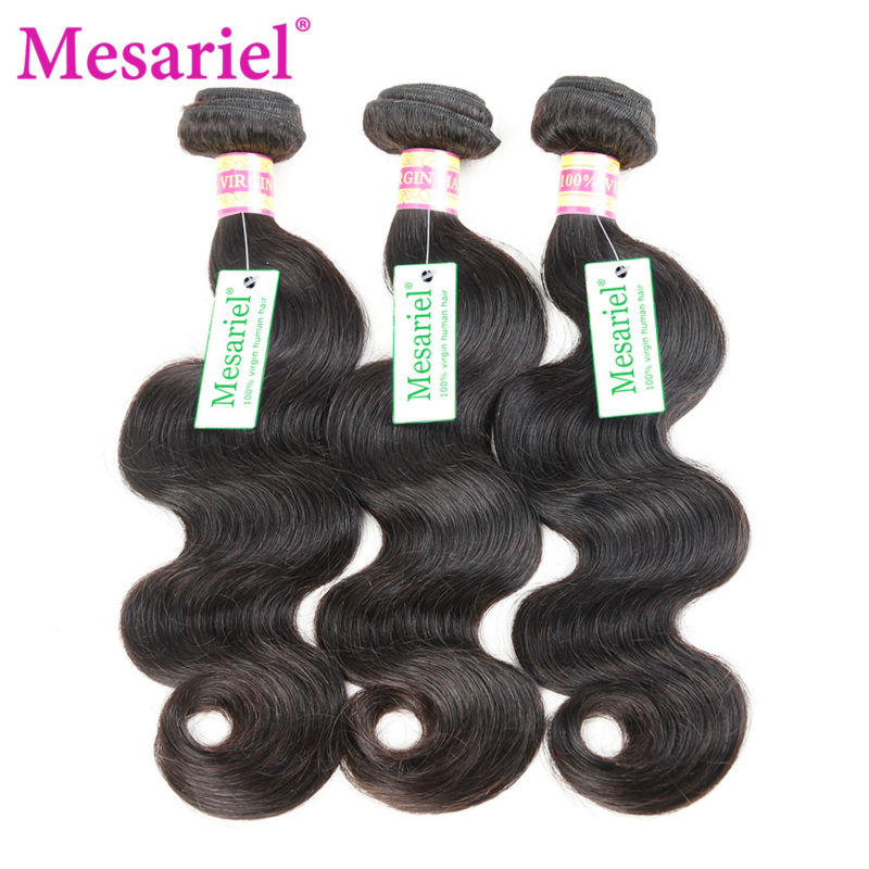 Malaysian Virgin Hair Body Wave 3Pcs/Lot Wavy Human Hair Weave Extensions 100% Unprocessed Soft Hair Bundles Malaysian Body Wave