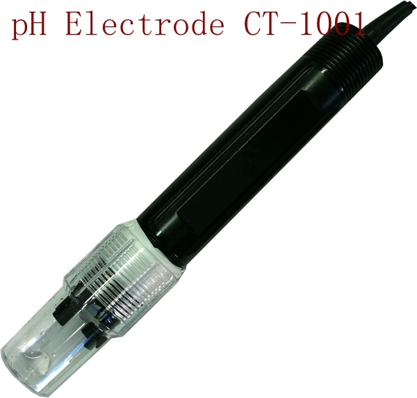 Industrial pH Electrode PH Sensor CT-1001 0-50 Degree PH Range:0-14 for PTFE liquid Interface Factory Industry Experiment(China (Mainland))