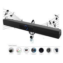 Hot selling Mini USB Soundbar portable stero audio players SOUND BAR for home theater LED TV/ smart phone /computer/ laptop