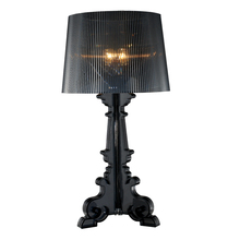 Moderne Barock Schattenlicht des geistes Tischlampen Mode Schlafzimmer Nachttischlampen Transparent Acryl Material E14 Halter Lesen Schreibtisch Lichter(China (Mainland))
