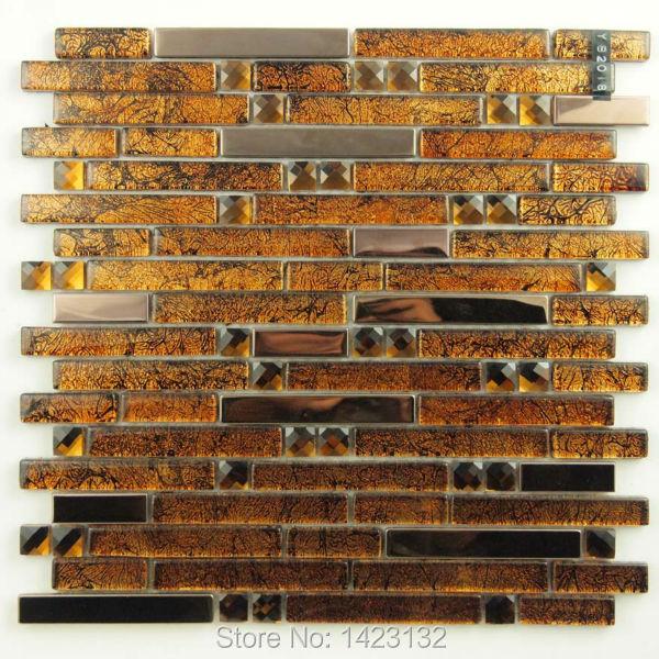 stainless steel tiles kitchen backsplashes crystal glass