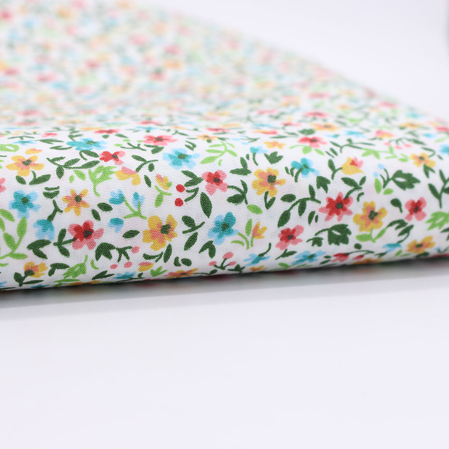 Buy floral cotton printed fabric for for Printed cotton fabric