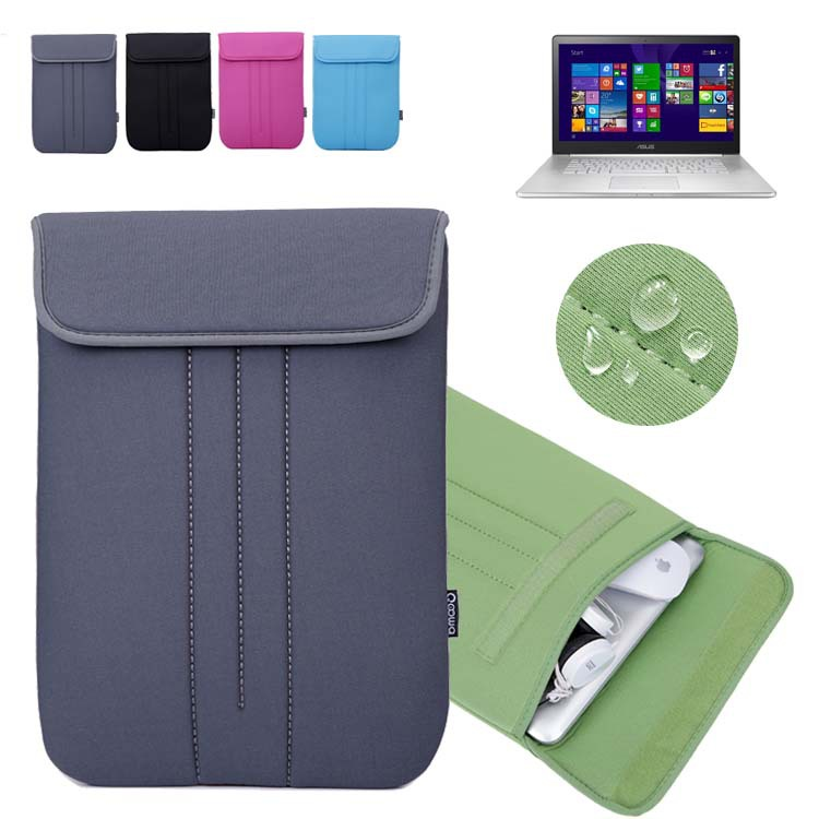 For 15'' Asus ZenBook NX500 / Pro UX501 15.6-inch Computer Case Vertical Sleeve Laptop Bag Neoprene Protective Skin Cover