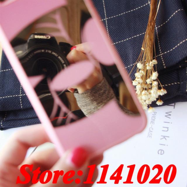 Luxury Mirror Surface Soft TPU Mickey Minnie Head Print for iPhone 5 5s 6S 6 Plus Chrome Carcasa Capa Coque Fundas