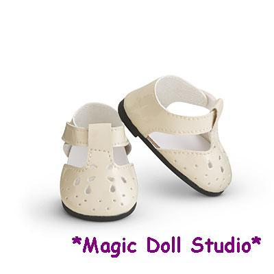 [AM068]Free Shipping 18 inch American girl doll shoes and accessories #White Casual Shoes for American girl doll shoes(China (Mainland))