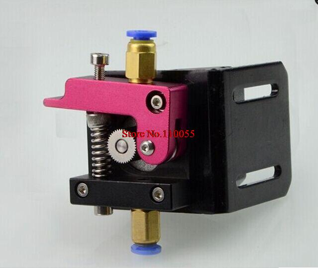 3D printer accessories Reprap bowden Full Metal remote extruder 1.75mm consumables used(China (Mainland))