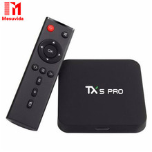 Buy TX5 Pro Android 6.0 TV BOX 2G/16G Amlogic S905X Smart Media Player HD 4K Fully CODI 16.1 Dual Wifi Quad core Set Top TV Box for $45.99 in AliExpress store